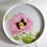 Plat à tarte Porcelaine Rose Rose 30 cm